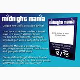 Midnight Mania MM Board - Copy Edition