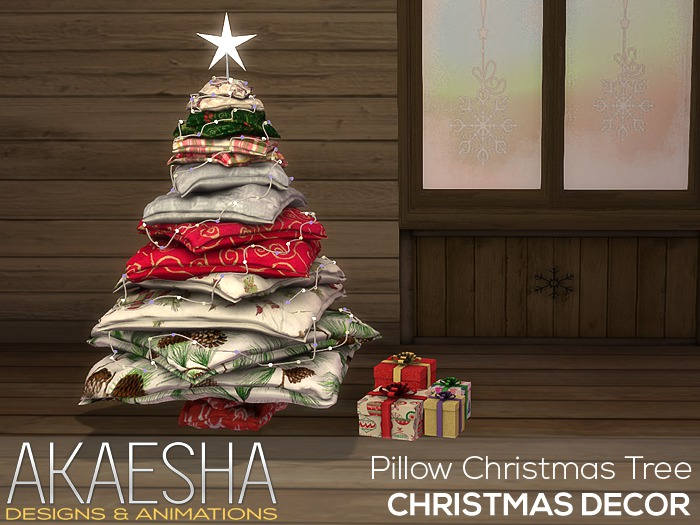 Christmas Tree (Pillows) PLUS Animated Presents