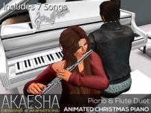 *- Akaesha's -* Piano (The Christmas Duet) Box (unpack me)