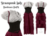 RUSH Steampunk Lady Bourdeaux Pack