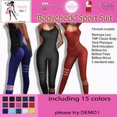 "[Simply Me!]Sport Suit ""Bodycheck"" Fitmesh Maitreya, Belleza, Slink, TMP"