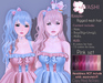 [^.^Ayashi^.^] Kinichi hair-Pink set