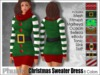 [Phunk] Christmas Sweater Dress (8 Colors)