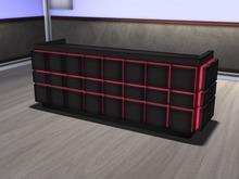 grid DJ booth ( black ) MESH Colour HUD