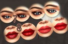 07 Genesis Lab. - Eyeshadows Appliers Set (4 in 1)