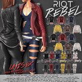 23. RIOT / REBEL Leather Belts - Cocoa - Maitreya