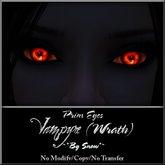 ~*By Snow*~ Vampyre Eyes (Wrath)