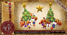 ALESTA << Mesh Christmas Tree & Ornaments Full Perm