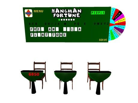 Hangman Fortune - Game show game - Holiday Sale