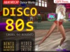A&M: Disco 80s - solo dance (Bento) :: Retro dance moves compilation :: Bento hands and fingers animation