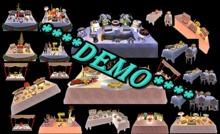 Buffet Table 20/1 *DEMO*