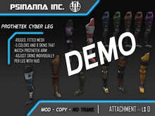 PsiNanna, Inc. ProtheTek Cyber Leg !!DEMO!!