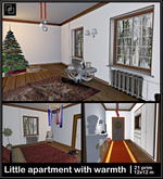 Xmas Gift! Little Apartment With Warmth 12x12