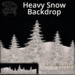 [DDD] Heavy Snow Backdrop