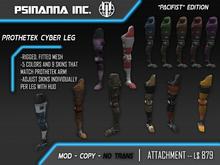 PsiNanna, Inc. ProtheTek Cyber Leg PACIFIST EDITION
