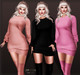 Sexy meiss sweater dress knit poster