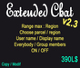 Extended chat v2.3 [BOX]