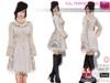 Full Perm Ladies Lace and Fur Trim Winter Coat Ocacin, 2 Slink, Maitreya,3 Belleza,Ebody,2 Tonic,TMP