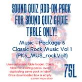 Sound Quiz PK5_MUS_ClassicRockVol1 add on pack