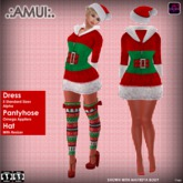 ".:AMUI:. CHRISTMAS ""Miss Santa"" - DRESS"