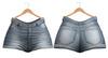 Blueberry - Ela - Denim Shorts - Bluecute