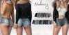 Blueberry - Ela - Denim Shorts - Fat Pack