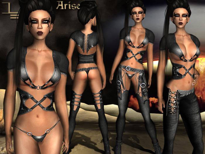 *DE Designs*-Arise-Black