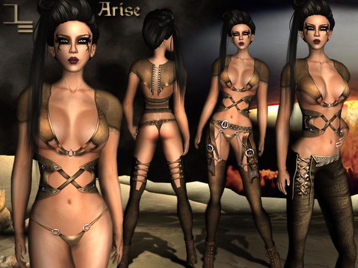 *DE Designs*-Arise-Natural Leather
