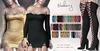 Blueberry - Bree - Off Shoulder Dress - Fat Pack