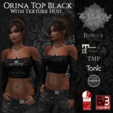 TSL - Orina Top {Black} w/HUD