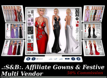 .:S&B:. Affiliate Multi Vendor Gowns & Festive
