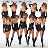 ++DESIRE++ Model Pose Set 31-40