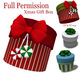 [ FULL PERM ] Round Gift Box