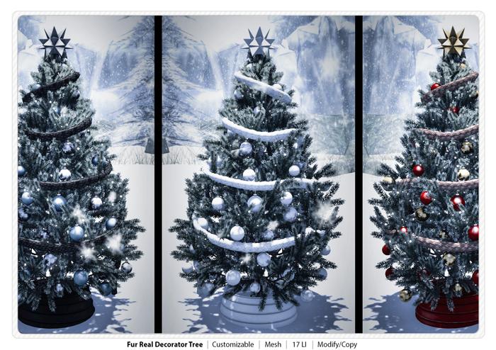 Fur Real Decorator Christmas Tree 3D Mesh