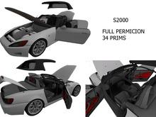 S2000 FULL PERMISION 34 PRIMS