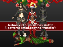 Jerboa 2018 - Christmas outfit