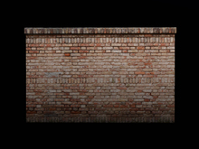 Mesh Brick Wall #1 FULLPERM - Become a Mesh Builder!