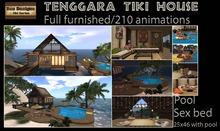 PROMO 2300L OFF !! Tenggara Tiki House Furnished(box)