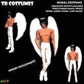 *TD* Male Angel Halloween Costume