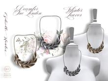 ✽♥✽.::GH::.✽♥✽  One Linden December - Leaves Necklace