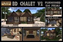 24 hours  500L OFF!BD Chalet V2 - tiki house