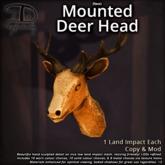 [DDD] Faux Mounted Deer Head