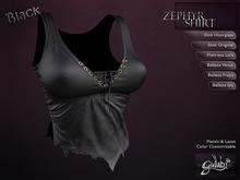 Gulabi [Zephyr] Top - BLACK