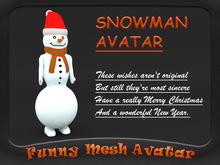SNOWMAN AVATAR GIFT (FREE)