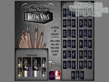 DP - Koffin Nails - Nail HUDS - Zodiac - Libra (Boxed)