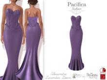 Pacifica Fashion - Alessandra Lavendar Gown
