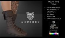 Feral - Faeldyr Boots [Female]