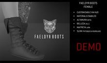 Feral - Faeldyr Boots [Female] Demo