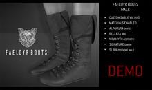 Feral - Faeldyr Boots [Male] Demo
