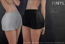 Vinyl - Charlotte Skirt Pak black